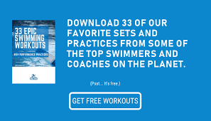 swimming workouts the 40 ultimate