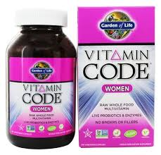 vitamin code raw women s multi formula