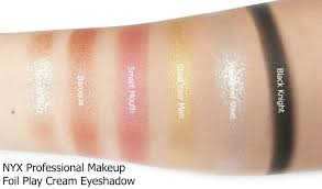 nyx professional makeup foils and