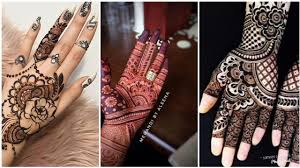 simple mehndi bunch design 2018