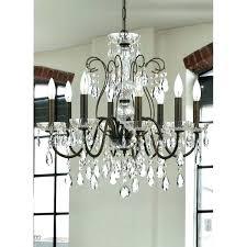 bronze crystal chandelier ceiling fan