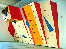 bouldering wall climbing