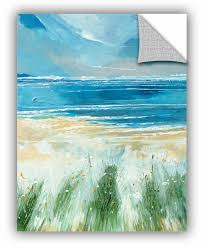 Winston Porter Summer Sea And Beach At Holkham Removable Wall Decal Wayfair