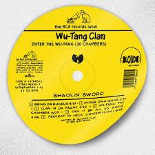 Wu Tang Clan Enter The Wu Tang 36 Chambers Sticker Etsy