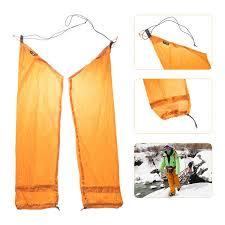 portable waterproof rain pants
