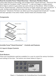 Radio Systems 3001183 Invisible Fence Brand Doorman User Manual