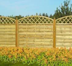 Fence Panel 467 Planed Timber 9mm Reeded Boards 2x2 Frame