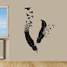 Overstock Com Online Shopping Bedding Furniture Electronics Jewelry Clothing More In 2020 Feather Wall Decor Sticker Wall Art Bird Wall Decals