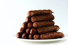 venison sausages with sage