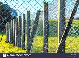 Concrete Post Fence High Resolution Stock Photography And Images Alamy