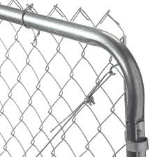 Yardgard 6 Ft W X 5 Ft H Galvanized Metal Adjustable Single Walk Through Chain Link Fence Gate 3283ad60 The Home Depot