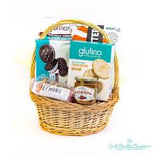 gluten free snackin calgary gift basket