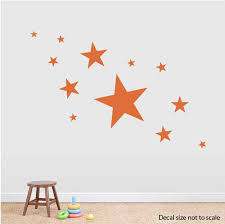 Nursery Star Wall Decals Removable Star Wall Stickers
