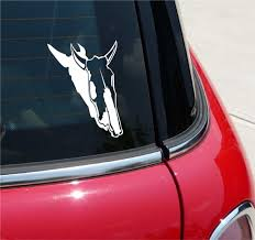 Cow Bull Skull Southwest Graphic Decal Sticker Art Car Wall