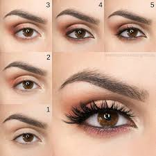 9 makeup tutorials for brown eyes to