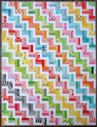 Red Pepper Quilts Zig Zag Rail Fence Quilt And New Quilt Pattern