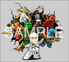 Amazon Com Kapowboom Graphics Lego Ninjago Breaking Through Wall 3d Sticker Decal Art Boys Bedroom Mural Medium 67 X 75cm Home Kitchen