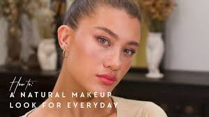 a natural makeup look for everyday