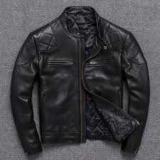 jackets lear fur collar short winter