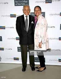 Byron Lewis and Sylvia Lewis attend The 2015 City College Center ...