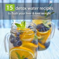 15 detox water recipes to flush your
