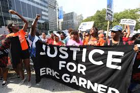 Eric Garner protest: Youths call for NYPD officers to be fired