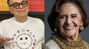 Walcyr Carrasco presta homenagem a Laura Cardoso, que completa 93 anos -  Área VIP