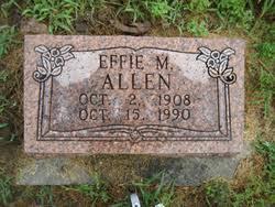 Effie Myrtle Williamson Allen (1908-1990) - Find A Grave Memorial