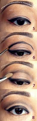 asian eyes makeup step by step
