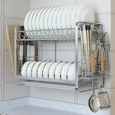 wall mounted dish rack for home rs