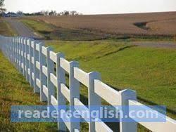 Fence Urdu Meaning
