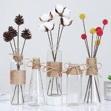 glass vase european flower