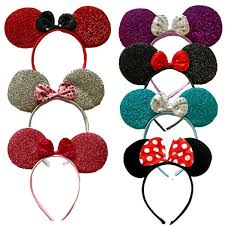 red sequin minnie mouse ears