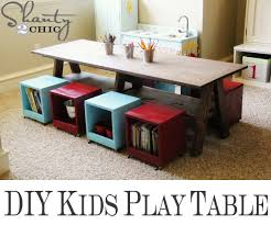 20 Cool Diy Play Tables For A Kids Room Kidsomania