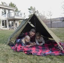 25 Family Friendly Backyard Camping Ideas Backyard Camping Tent