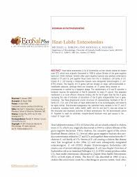 ASMscience   Heat-Labile Enterotoxins