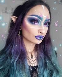 40 attractive fantasy makeup designs