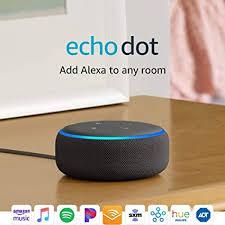 Amazon Com Echo Dot 3rd Gen Smart Speaker With Alexa Charcoal Amazon Devices