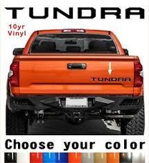 Toyota Tundra Tailgate Vinyl Decal Letters Insert 2014 2020 10yr Warranty Ebay
