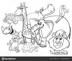 Wild Animals Coloring Worksheet Printable Worksheets And Animal