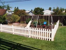 Fenced Play Area Outdoor Kids Play Area Play Area Backyard Outdoor Play Areas