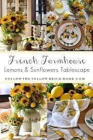french farmhouse lemons