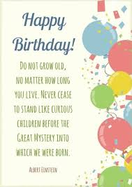 hand picked list of insightful famous birthday quotes