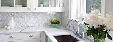 marble mosaic tile backsplash