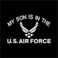 My Son Is In The Us Air Force Vinyl Decal Sticker Window Wall Car Ebay