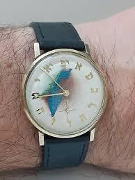 ADI ISRAELI ALPHABET Judaica Retro Watch (21-0265-181) Water Resistant 3ATM  - EUR 60,55 | PicClick DE