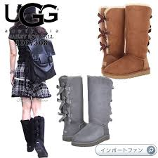boots of ugg which the bailey bow tie