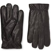 faux fur lined leather gloves by dents