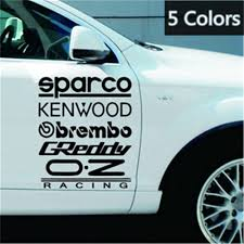 Sparco Reflective Film Engraving Hollow Car Sticker Buy At A Low Prices On Joom E Commerce Platform