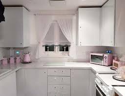 mum creates mrs hinch inspired kitchen